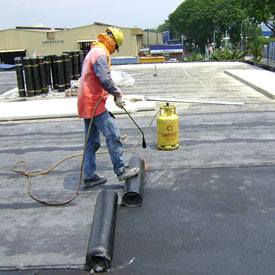 waterproofing building terrace