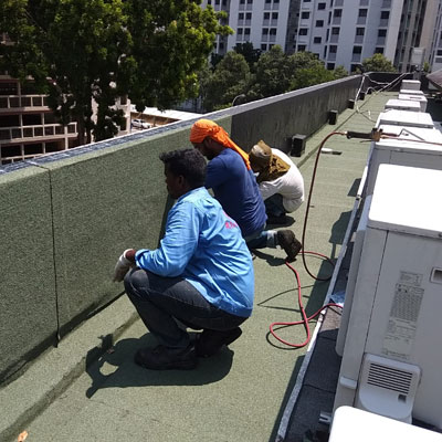 waterproofing commercial building